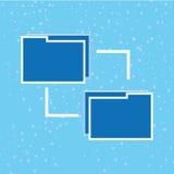 Rechenzentrumdesign Stockfoto