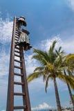 Recherchant la statue de raison chez Puerto Vallarta, le Mexique photo stock