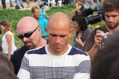 Recherche 2009 de Rip Curl de WCT pro dans Peniche Photo stock