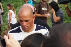 Recherche 2009 de Rip Curl de WCT pro dans Peniche Photos stock