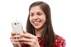 Recherche au téléphone Photo stock
