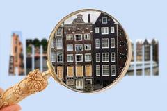 Recherche d'Amsterdam Photos stock