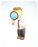Recherche d'homme d'affaires Photographie stock