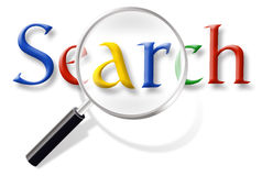 Recherche d'Internet de Web Images libres de droits