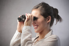 Recherche d'un emploi Images stock