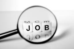 Recherche d'un emploi Photos stock