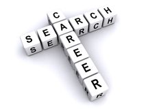 Recherche de carrière illustration libre de droits