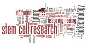 Recherche de cellule souche illustration de vecteur