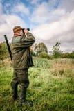 Recherche de chasseur Photos stock