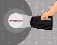 Recherche de l'appartement Photos libres de droits