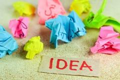 Recherche de l'idée image libre de droits