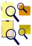 Recherche de l'information Image stock