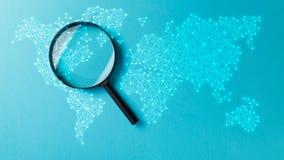 Recherche de l'information de concept illustration libre de droits