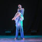 Recherche de la danse d'avenir-campus Photo libre de droits