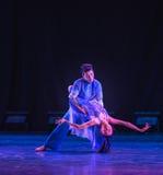 Recherche de la danse d'avenir-campus Images libres de droits