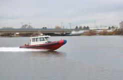 Recherche de la garde côtière de Canada et navire de délivrance Photo stock