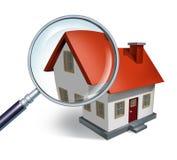 Recherche de logement illustration stock