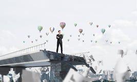 Recherche de nouvelles manières de la solution de problèmes Image stock