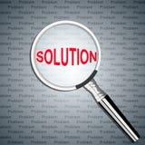 Recherche de solution Photos libres de droits