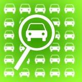 Recherche de véhicule Image libre de droits