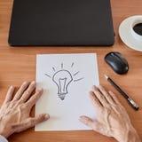Recherche des idées neuves Photos libres de droits
