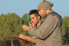 Recherche environnementale photographie stock libre de droits