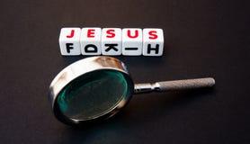 Recherche Jésus Image libre de droits
