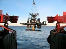 Recherche marine Images stock