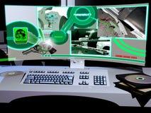 Recherche moderne de crime Photos libres de droits