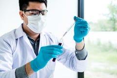 Recherche, scientifique ou médical de laboratoire de biochimie dans le laboratoire Co photo stock