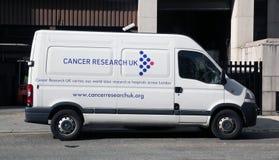 Recherche sur le cancer R-U images libres de droits