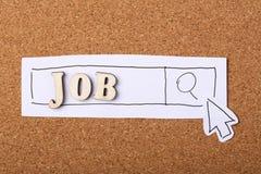 Recherchez Job Online Images stock
