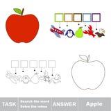 Recherchez le mot Apple Image stock