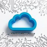Rechnenabbildung der Wolke Lizenzfreies Stockfoto