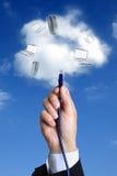 Rechnenkonzept der Wolke Lizenzfreie Stockbilder