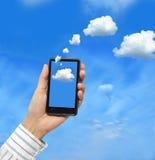 Rechnenkonzept der Wolke Stockfotos