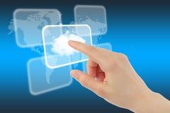Rechnenkonzept der Wolke Stockfoto