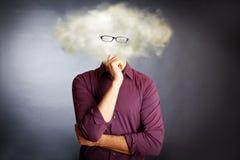 Rechnenkonzept der Wolke Lizenzfreies Stockfoto