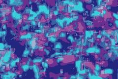 Rechnerschaltungskonzept oder futuristischer Entwurf für einen Hintergrund stock abbildung