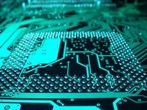 Rechnerschaltungsmotherboard lizenzfreie stockfotografie
