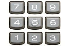 Rechnertastaturblock Lizenzfreie Stockbilder