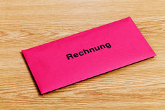 Rechnung Stock Images