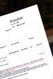 Rechnung Lizenzfreies Stockbild