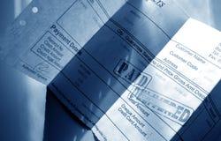 Rechnung lizenzfreie stockfotografie