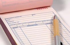Rechnung Lizenzfreies Stockfoto