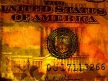 Rechnung Wasserzeichengesicht US-$50 Stockbilder