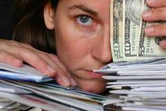 Rechnungen Stockfoto