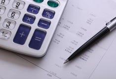 Rechnungen Lizenzfreies Stockbild