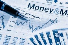 Rechnungen und Diagramm 2 Lizenzfreie Stockfotografie