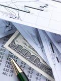 Rechnungen und Finanzen lizenzfreie stockfotografie